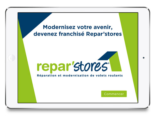 Marketing digital interactif - Reparstores